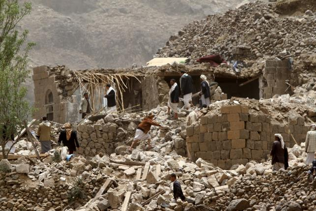 Russia and Red Cross appeal for 'humanitarian pause' in Yemen