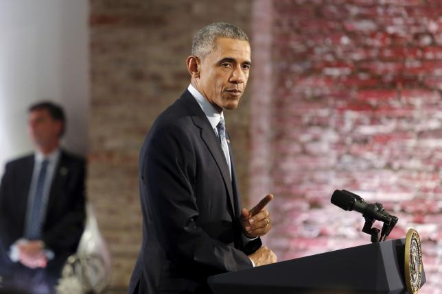 Obama says confident Iran sanctions could be reimposed if deal broken