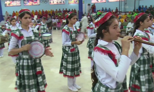 Women Sports Gala ends: Girls in traditional dresses enthral audience in Peshawar