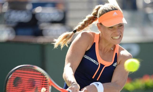 Kerber defeats Petkovic, to face Keys in Charleston final