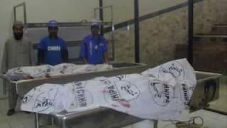 Five bullet-riddled bodies found near Layari