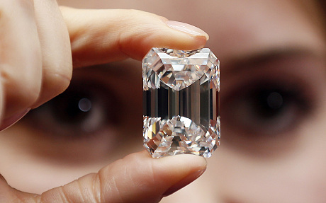 Flawless 100-carat diamond sells for $22.1 million at NY auction