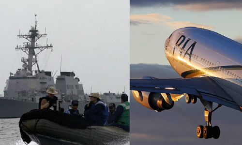 Repatriation of stranded Pakistanis: PIA plane leaves for San'a, Navy ship for Al-Hudaida