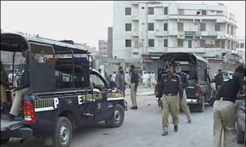 Five terrorists arrested from Jamshoro; hand grenades, bomb-making chemical seized