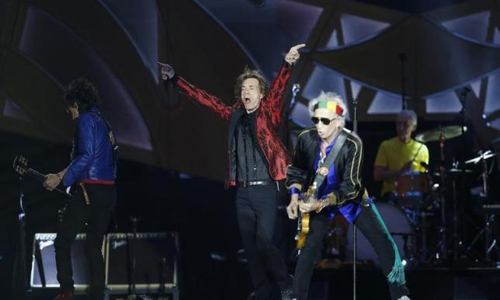 The Rolling Stones return to US with 15-city 'Zip Code' tour