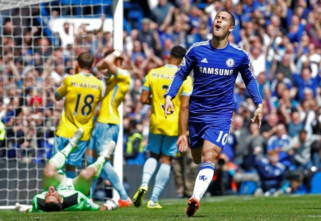 Chelsea beat Palace to clinch Premier League title
