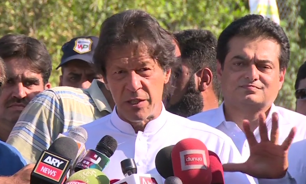 Selection of 41,000 people is real change in Khyber Pakhtunkhwa: Imran Khan