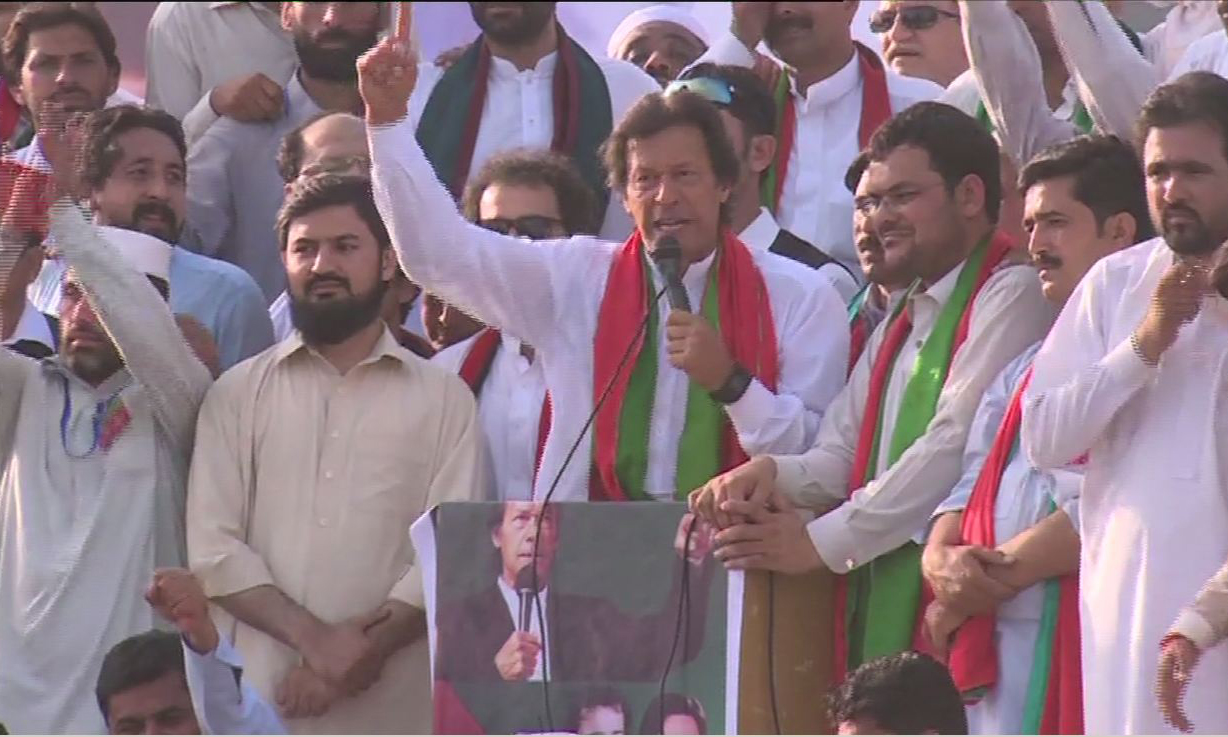 Imran Khan says there are Gullus in Punjab police; approves party's interim set-up
