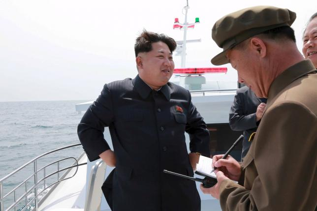 South Korea expresses concern over North's submarine missile test