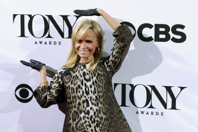 Kristin Chenoweth juggles dual roles as Tonys co-host, nominee