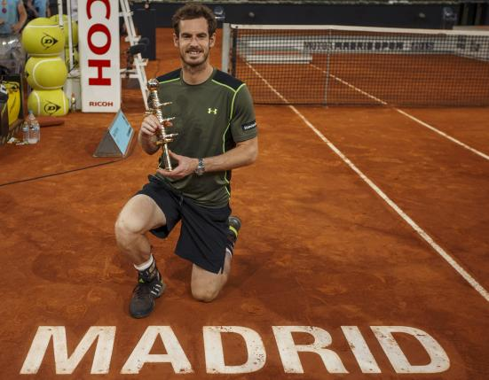 Murray stuns clay king Nadal to win Madrid Masters