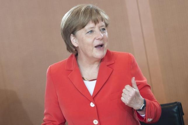 Merkel appeals to Germans to back trade pact ahead of G7 meeting