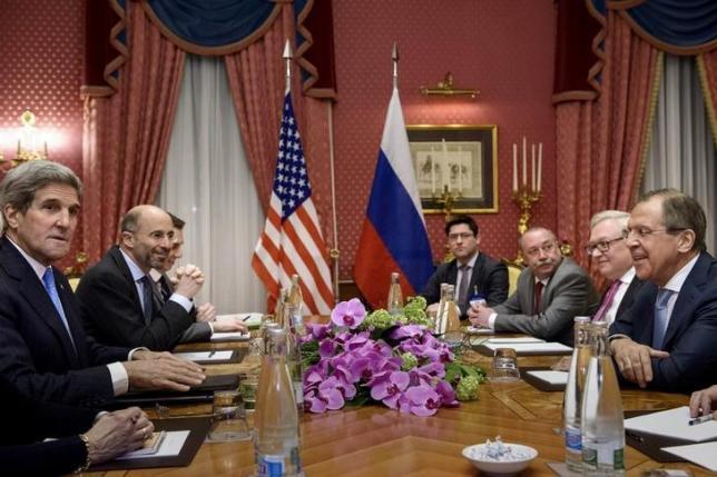 Putin, Kerry to discuss Ukraine, Syria, Iran