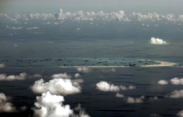 Pentagon mulls sending planes, ships near disputed South China Sea islands