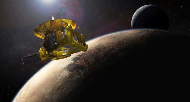NASA spacecraft spots possible ice cap on Pluto