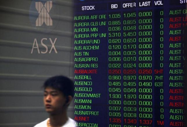 Asian shares tread water ahead of Australia rate decision