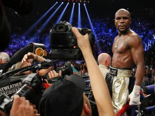 Still an asterisk over Mayweather's legacy