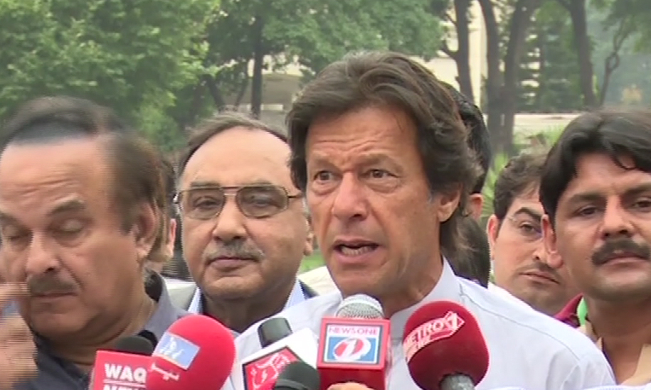 Imran Khan asks MPs, candidates to expedite campaign for LB polls in Khyber Pakhtunkhwa