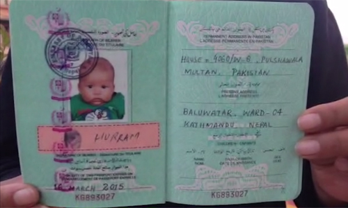 Nepalese woman marrying Pakistani pleads for nine-month-old