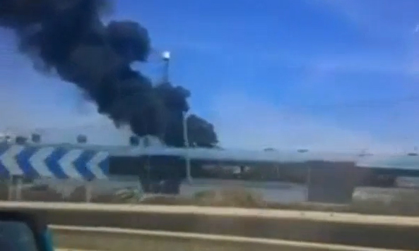 Military plane crashes in Spain killing at least three