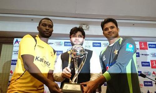 Pakistan-Zimbabwe first ODI tomorrow; PCB unveils series trophy
