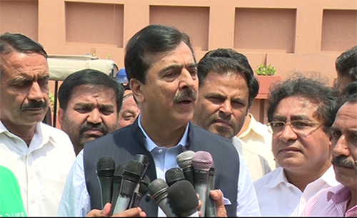 No-go areas must be wiped out from country, says Yousaf Raza Gilani