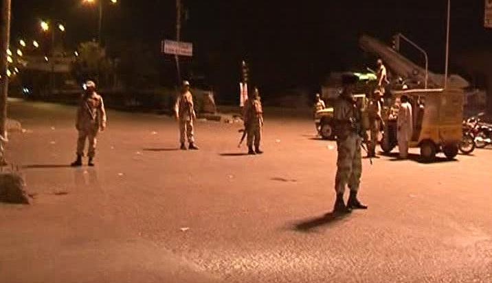 Sindh Rangers detains at least 40 suspects in Karachi