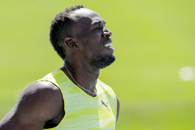 Bolt enters 100 at Jamaican world trials