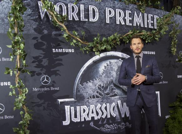 Chris Pratt on 'Jurassic World' and being a hunk
