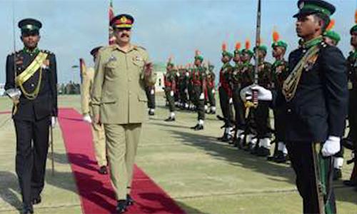 COAS Raheel Sharif visits Sri Lankan Army Headquarters