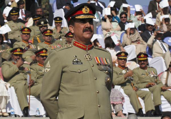 COAS Gen Raheel Sharif witnesses Pak Army's Team Spirit competition