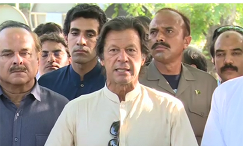 Zardari's statement about army harsh, condemnable: Imran Khan