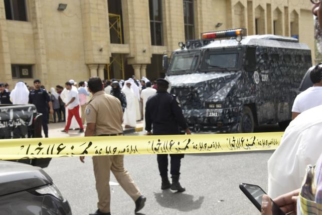 Kuwait detains suspects in mosque bombing
