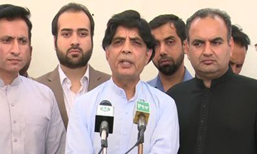 JIT formed to investigate Imran Farooq murder accused, says Ch Nisar