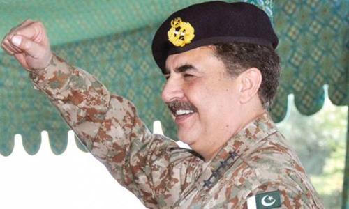 COAS Gen Raheel Sharif reaches US on five-day visit