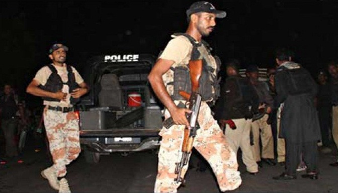 Dacoit killed, several arrested in different operations in Karachi