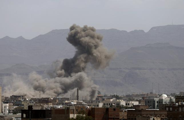 Saudi-led air strikes kill 19 in Yemen