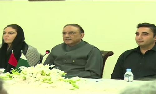 PPP Majlis-e-Amla endorses Asif Zardari's anti-Army statement