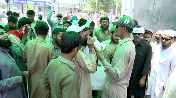 Visually-impaired persons continue protest in Lahore
