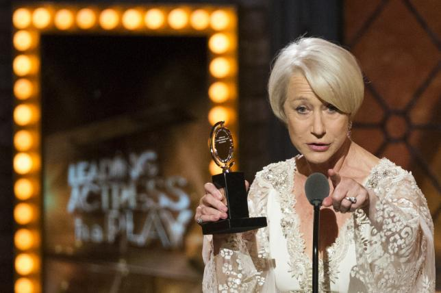 Helen Mirren, musical 'Fun Home' win top Tony Awards