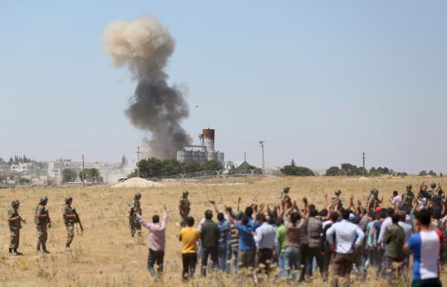 Islamic State kills at least 145 civilians in Syria's Kobani
