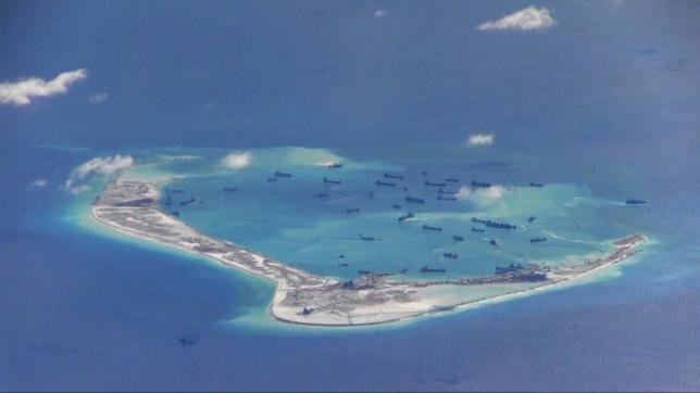 Pentagon again asks China to end island building, seeks more military contact