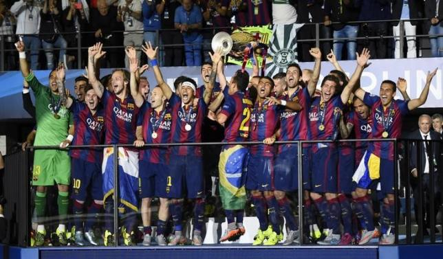 Barca cap great season with fifth European Cup win
