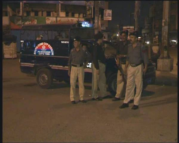 Wife and daughter of a cop killed in Karachi