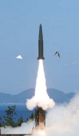 South Korea test-fires missile that can strike all of the North