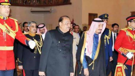 Saudi King Salman accepts President Mamnoon's invitation to visit Pakistan