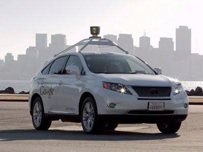 Two rival self-driving cars have close call in California