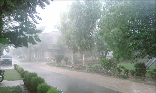 One killed, 13 injured as windstorm lash Punjab cities