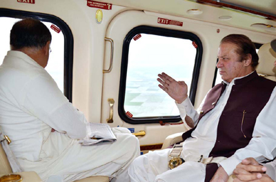 PM Sharif returns home from Saudi Arabia