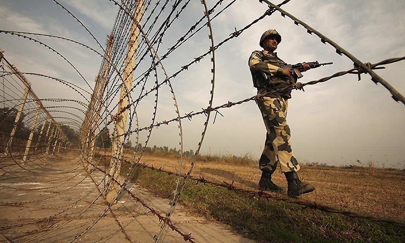 Indian troops violate ceasefire on working boundary yet again